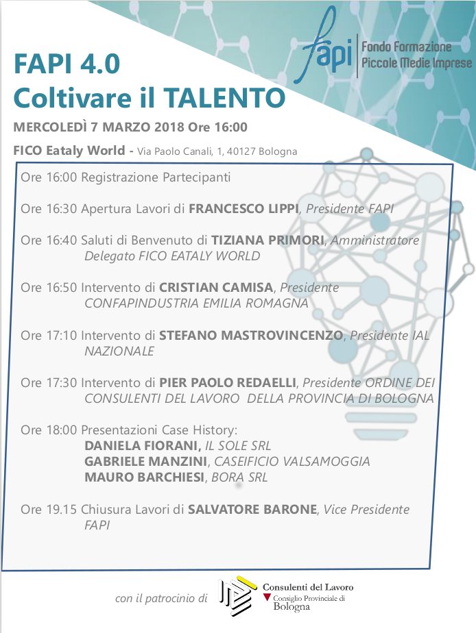 evento Fapi Fico Bologna